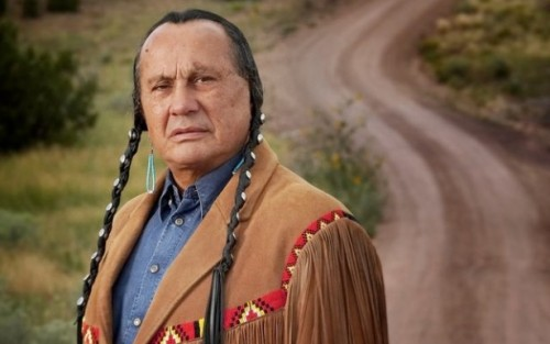 """Russell Means, American Indian Movement co-founder and friend of Palestine, passed away today (October 22, 2012). He badly wanted to participate in the tribunal 2 weeks ago, but cancelled due to illness. To learn some history of the movement he led, read this."" Source"