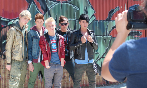 weareafterromeo:  Behind the camera action!  some of my BTS photos of After Romeo finally see the light of day!