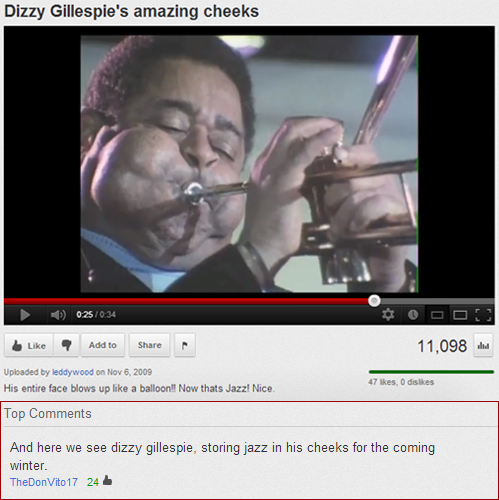 YOUTUBE GOLDtastefullyoffensive:  [vid/via]