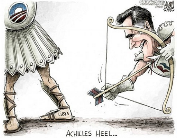 Cartoon of the day — Mitt's misfireADAM ZYGLIS © 2012 Cagle Cartoons More cartoons