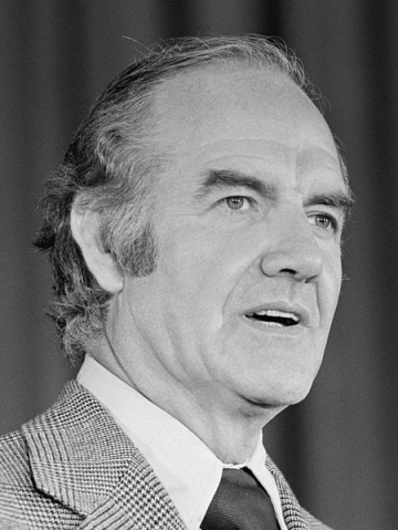 The late George McGovern was also a writer and historian.