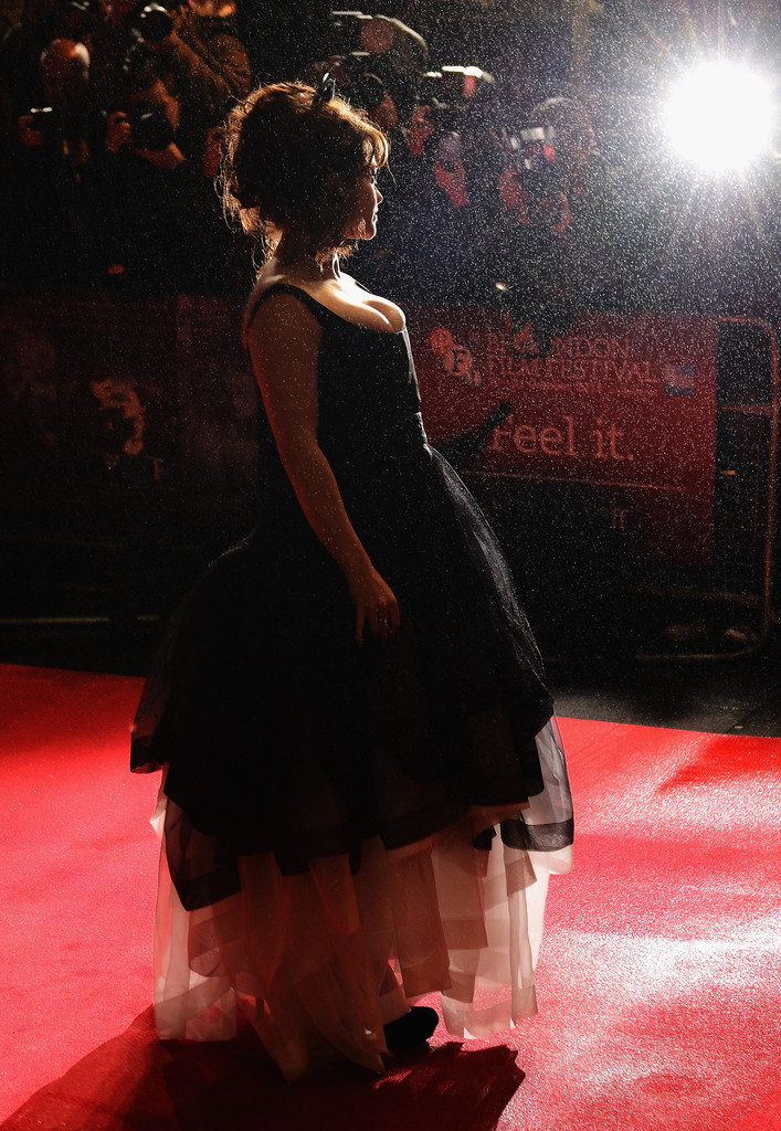 suicideblonde:  Helena Bonham Carter at the Great Expectations premiere during the BFI London Film Festival, October 21st