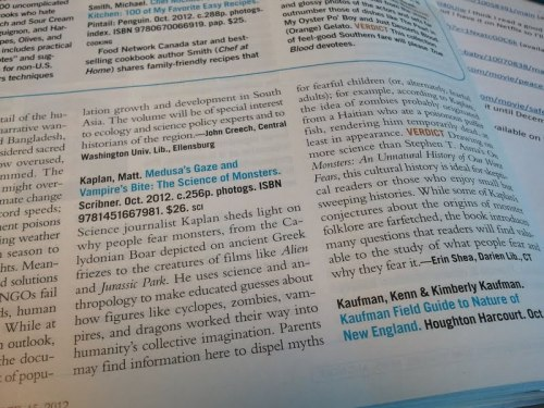 "darienlibrary:  My first book review in Library Journal. My real reason for posting this is to say that now I can officially take Molly out for margaritas and tell people I'm having drinks ""with my editor.""  I was thinking about posting this song in response but instead I will say, 1) there are few things as wonderful as the fancy language Erin and I can now use about our friendship, and 2) YOU, TOO, CAN REVIEW FOR LJ. (Email me!)"