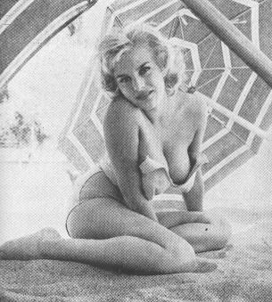 June Wilkinson photographed by Russ Meyer Modern Man Dec 1962