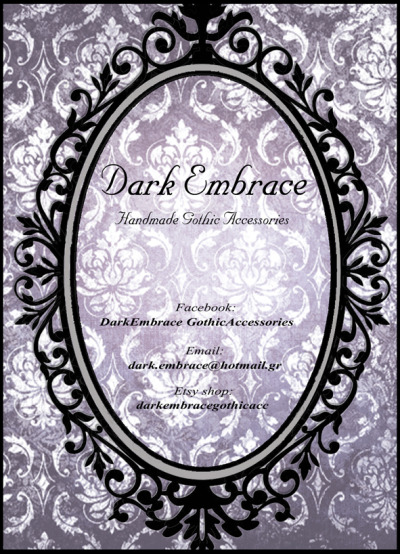 Dark Embrace Gothic Accessories Flyer. @2012