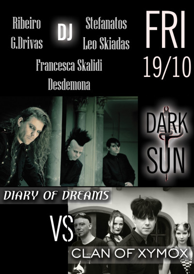 Diary Of Dreams VS Clan Of Xymox @DarkSunGothicClub