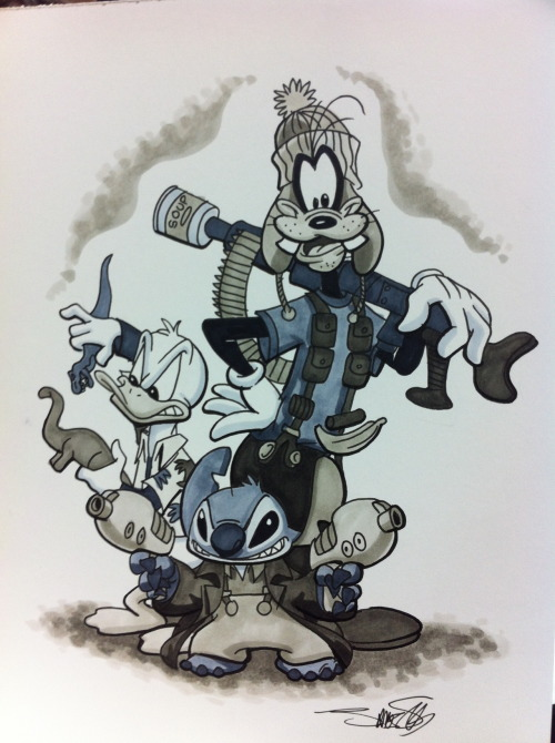 silvaniart:  NYCC- You can't take the Disney from me.