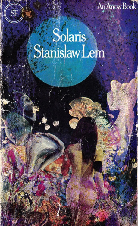 criterioncast:  Paperback cover for Stanislaw Lem's Solaris (1973 Arrow Books Ed.)Via Tsutpen
