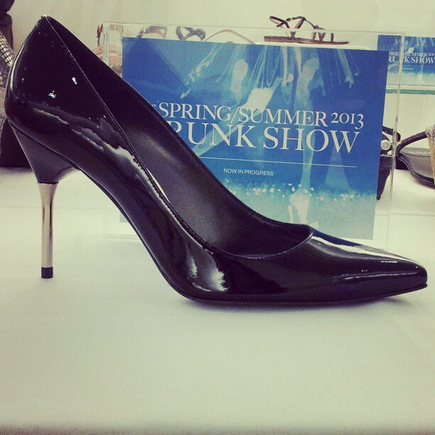 Classic black pump for spring 2013 @Stuart_weitzman