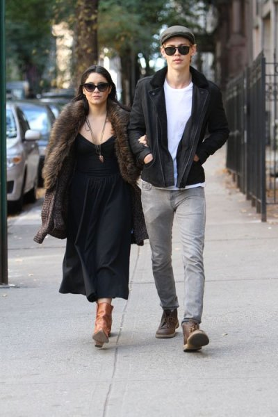 Vanessa Hudgens + Austin Butler out in NYC this past weekend