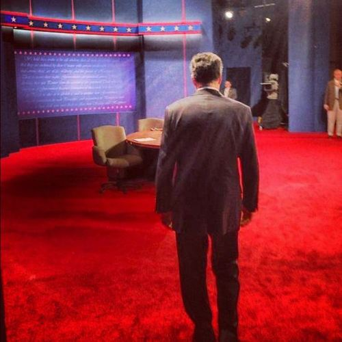 Follow the debate tonight as soon as Mitt takes the stage http://debates.mittromney.com/