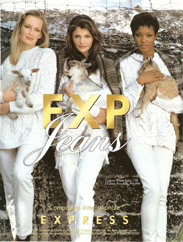 Estelle, Helena and Naomi for Express Jeans