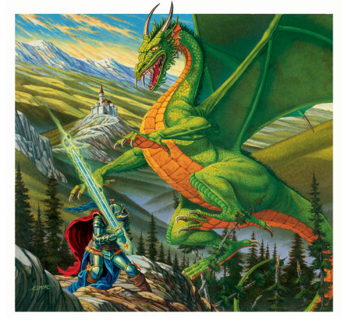 Dragonlance! Woowoo! By Elmore! Man this brings me back.