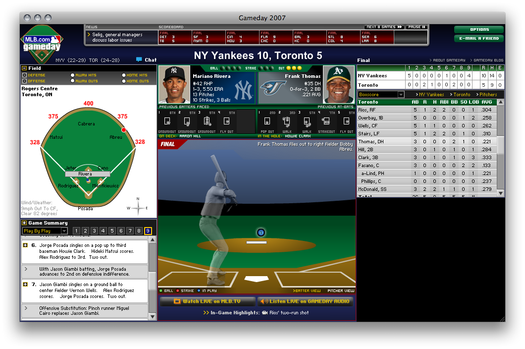 MLB Gameday from 2007.