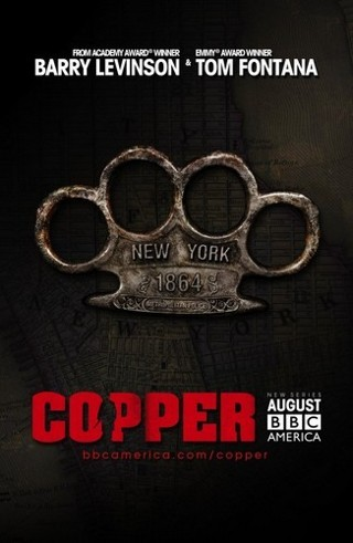 "I am watching Copper                   ""S1E10 ""A Vast and Fiendish Plot"" - season finale, at least it's already been renewed for a 2nd season! ""                                            25 others are also watching                       Copper on GetGlue.com"
