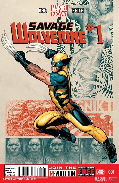 "Frank Cho's ""Savage Wolverine"" coming to Marvel NOW! More at CBR:  http://bit.ly/Uu1Bgx"