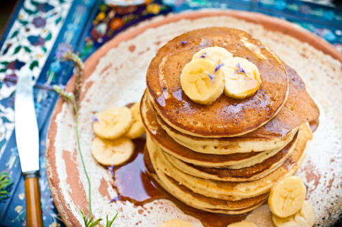 yummyinmytumbly:  Mouth watering pancakes