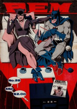chipsnopotatoes:  Batman and Catwoman in wedded bliss - Imgur Somewhere in Florence, this is happening….  Nice slippies, big guy