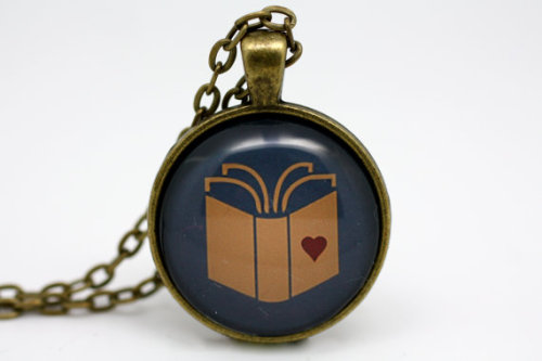 bookporn:  'Book Heart' by Beneath Glass