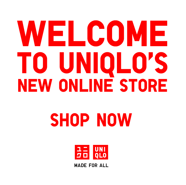 UNIQLO US ONLINE STORE IS FINALLY OPEN! For those that don't want to have to stock up every time they go to New York (and now San Francisco), Uniqlo has at long last, opened up their online store. Non-Asians feel free to go about your regular Monday.
