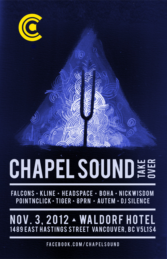 elekwentfolk:  CHERCHEZ&CO present † CHAPEL SOUND TAKEOVER #1 † ↑↑↑↑↑↑↑↑↑↑↑↑↑↑↑↑↑↑↑↑↑↑↑↑↑↑↑↑↑↑↑▬▬▬▬▬▬▬▬▬▬▬▬▬▬▬▬▬▬▬▬SATURDAY / NOVEMBER 3rd / WALDORF▬▬▬▬▬▬▬▬▬▬▬▬▬▬▬▬▬▬▬▬SOUND SELECTIONS BY: ♪ FALCONS ♪http://soundcloud.com/oaklandfalcons• KLINE •http://soundcloud.com/klineΔ HEADSPACE Δhttp://soundcloud.com/headspace-1 ♦ BOHA ♦ http://soundcloud.com/bohamusic░ NICK WISDOM ░ http://soundcloud.com/nickwisdom│ POINT^NDCLICK │http://www.humaneyes.ca/φ 8PRN φ (DJ SET)http://soundcloud.com/8prn¢ ΛUTEM ¢http://soundcloud.com/mrdr+ A-RO +http://soundcloud.com/aro-elekwent↑ TIGER ↑† DJ SILENCE †AND RESIDENT DJ ♥ CHERCHEZ LA FEMME ♥VISUALS BY SORCERESS ╫ WHICH NANCY ╫ http://nancylee.ca/↑↑↑↑↑↑↑↑↑↑↑↑↑↑↑↑↑↑↑↑↑↑↑↑↑↑↑↑↑↑↑▬▬▬▬▬▬▬▬▬▬▬▬▬▬▬▬▬▬▬▬http://www.facebook.com/ChapelSoundhttp://jellyfishrecordings.com/http://studentloanrecords.tumblr.com/▬▬▬▬▬▬▬▬▬▬▬▬▬▬▬▬▬▬▬▬
