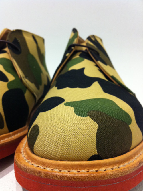 funky camo kicks…very dope