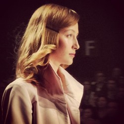 My favourite: Alana Zimmer at @Pink_Tartan. Congrats @KimNewport! #tfw #fashion