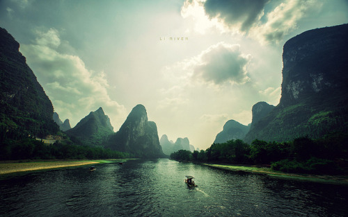 Day 9: Li River by isayx3 on Flickr.