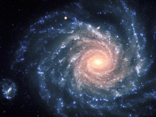 "ikenbot:  Galaxy Evolution Discovery Surprises Scientists  Disk galaxies like our own Milky Way put the finishing touches on their stunning shapes relatively recently, a new study suggests.  Image: This spectacular image of the large spiral galaxy NGC 1232 was obtained on Sept. 21, 1998, during a period of good observing conditions. Credit: ESO  The find will likely surprise many scientists, who had thought such galaxies had been static for more than half of the universe's 13.7-billion-year existence.  ""Astronomers thought disk galaxies in the nearby universe had settled into their present form by about eight billion years ago, with little additional development since,"" lead author Susan Kassin, of NASA's Goddard Space Flight Center in Greenbelt, Md., said in a statement. ""The trend we've observed instead shows the opposite — that galaxies were steadily changing over this time period.""  Kassin and her colleagues used NASA's Hubble Space Telescope and the Keck Observatory in Hawaii to study 544 blue galaxies, whose color indicates that stars are forming within them.  They found that the most far-flung, ancient galaxies tend to be the most disordered, with organization steadily increasing as galaxies are observed closer and closer to the present day. Over time, the galaxies' rotation speeds increase, and they settle into proper, well-behaved disks.  The trend holds for galaxies of all masses, but the biggest systems are always the most highly organized, researchers said.  ""Previous studies removed galaxies that did not look like the well-ordered rotating disks now common in the universe today,"" said co-author Benjamin Weiner of the University of Arizona. ""By neglecting them, these studies examined only those rare galaxies in the distant universe that are well-behaved and concluded that galaxies didn't change.""  Full Article"