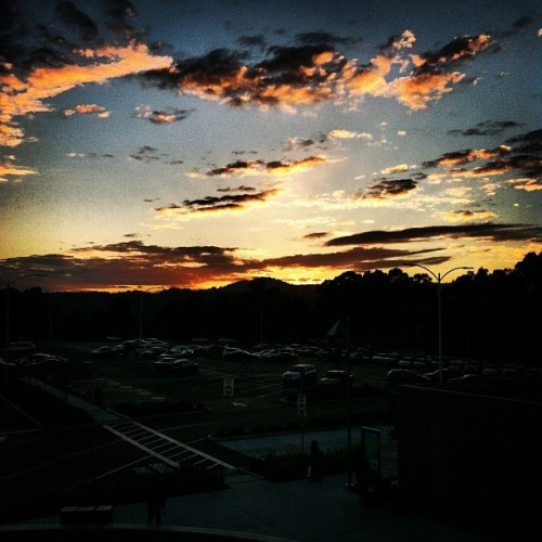 Wusup #csm parking lot #sunset #cloudporn #clouds #yolo #swag #whoop #bitchesonmydick