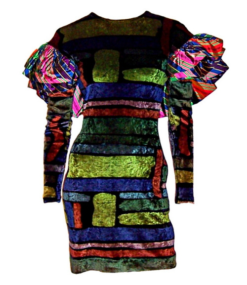Dress Christian Lacroix, 1980s 1stdibs.com