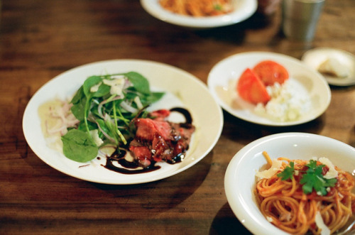 dinner by miwaramone on Flickr.