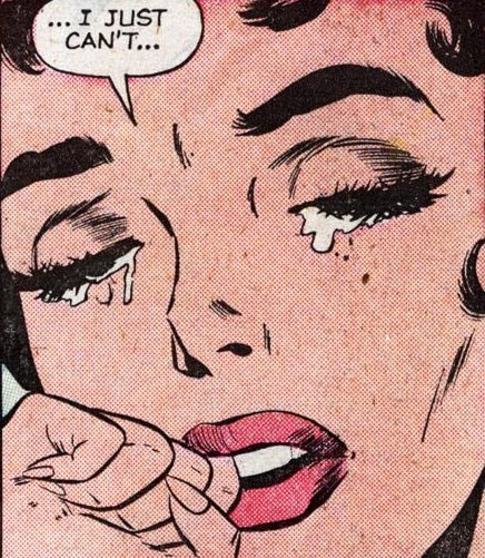 "vintagecoolillustrated:  ""I Just Can't!"""