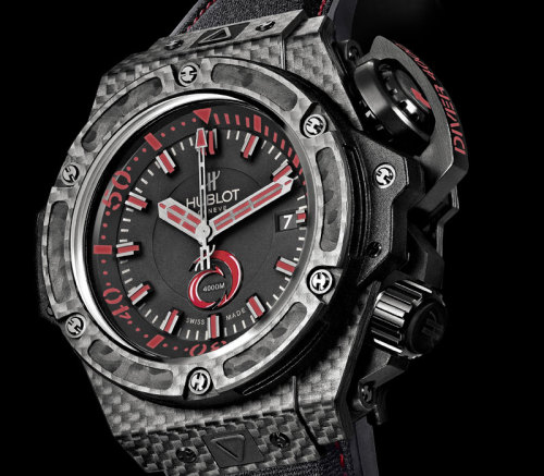Hublot King Power Alinghi 4000… want http://www.monochrome.nl/hublot-king-power-alinghi-4000-team-alinghi-and-the-swiss-watch-industry/