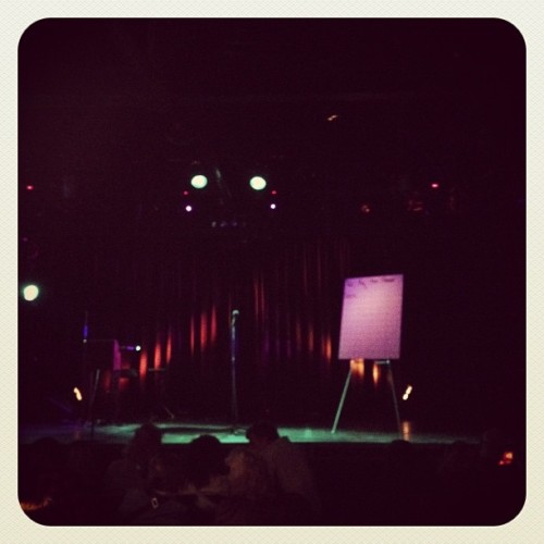 #mothgrandslam your fall from grace, about to get started at the echoplex!!! (at Echoplex)