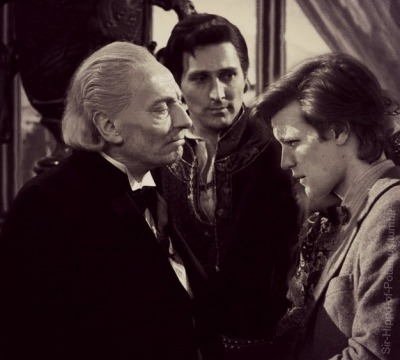 sir-hippo-of-potamus:  The Doctor meets his former self.