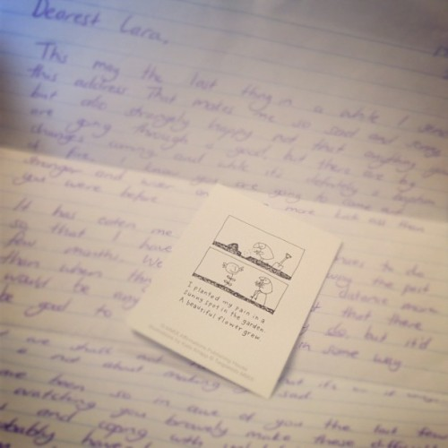 Letters from best friends- instant day-maker :)#sarah #ohrillamyrilla
