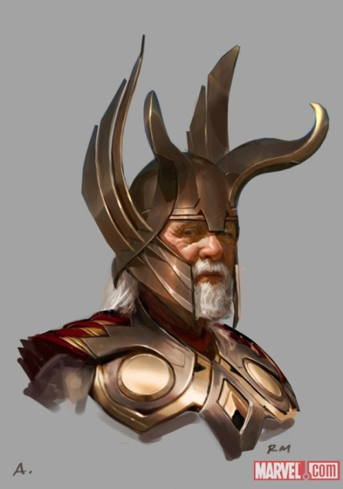 matches-malone:  Odin concept art by Ryan Meinerding