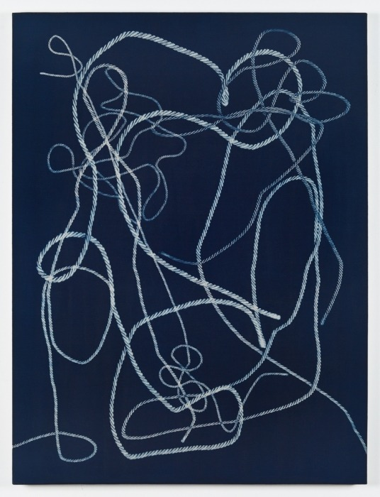 John Opera, Ropes I, 2012  go see his show at Andrew Rafacz