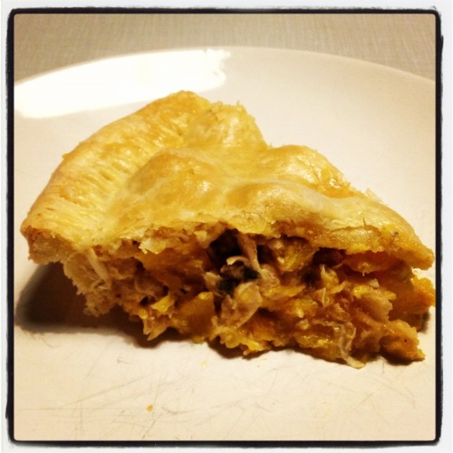 SAVORY PUMPKIN PIE