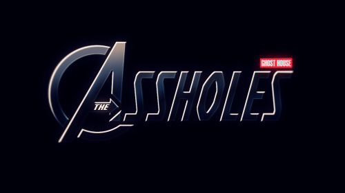 Behold! The logo for the Ghost House Avengers spoof, The Assholes! Will you help the assholes assemble? Help us assemble the Assholes by subscribing to our YouTube channel! http://www.youtube.com/ghosthouse Like our Facebook page while your at it! https://www.facebook.com/ghosthousecartoon