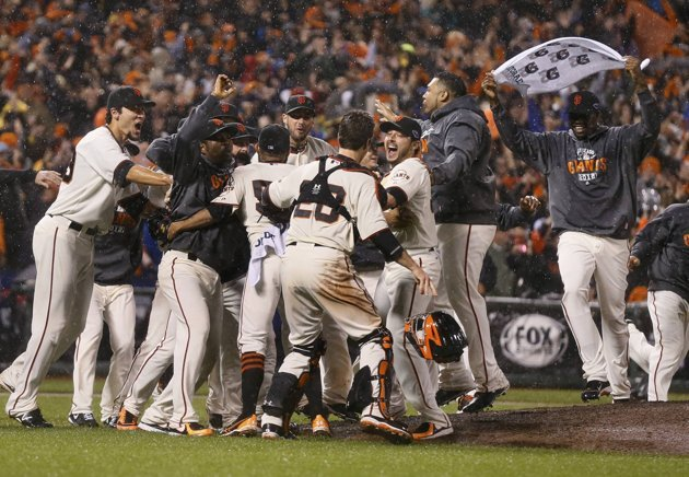 atorres94:  2012 NL Champions San Francisco Giants. World Series here we come!