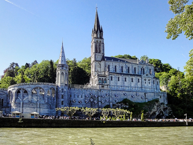 Our Lady of Lourdes, France by williamcho on Flickr.