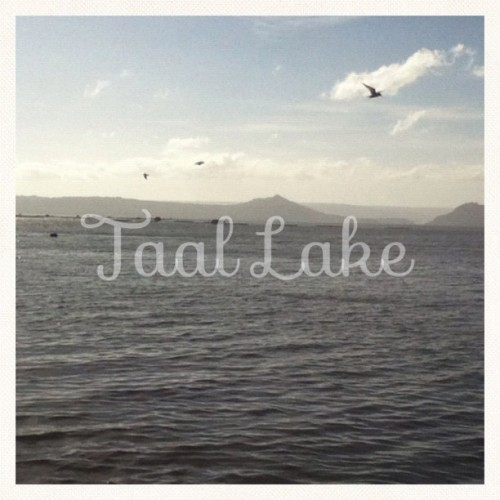 Yesterday at Taal Lake