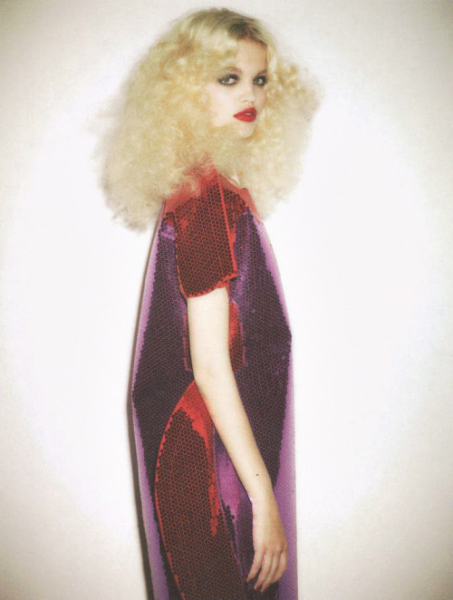 Daphne Groeneveld by Ezra Petronio for Self Service