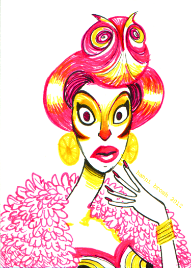 Owltober 22nd i am super pumped for DRAG RACE OWL-STARS!