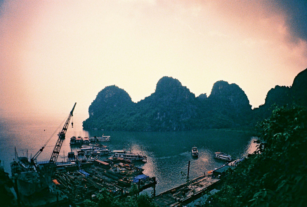 09.21.12 - Ha Long Bay   Lomo LC-A+ 64T Lomography film   Instagram Photo Set Temple of Literature Photo Set Hanoi Cyclo City Tour Photo Set To Halong Bay Photo Set Ho Chi Minh Mausoleum, One Pillar Pagoda, Ho Chi Minh Museum Photo Set Halong Bay Fujica Photo Set