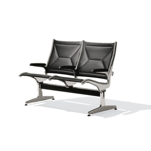 1962 O'Hare International Airport Tandem Sling Seating | Design: Ray Eames Via