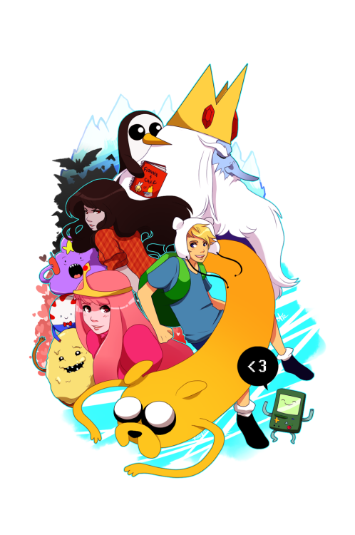 lightningjinx:  athousand-confessions: (via Adventure Time with Finn and Jake by *tabby-like-a-cat on deviantART)