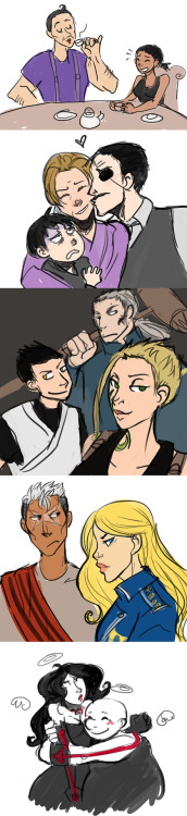 bookelfe:  thesnakechimera:  FMA - Other characters by ~schellibie  [[ This is just the coolest ]]  THAT TIME EVERYONE WAS ADORABLE  OMG, old Shelby art!